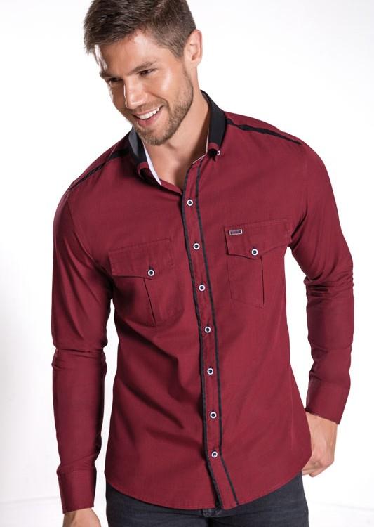Camisa Super Slim Dicamargo ALLNITRO. Fil-a-Fil 100% Algodão.