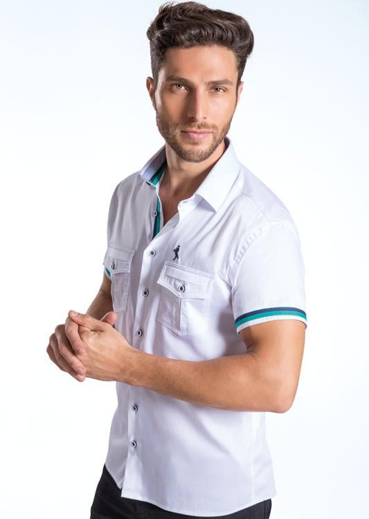 Camisa Super Slim Dicamargo ALLNITRO. Stretch Acetinado.